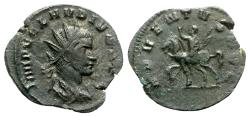 Ancient Coins - Claudius II (268-270). Radiate - Rome - R/ Emperor on horseback
