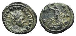 Ancient Coins - Claudius II (268-270). Radiate. Mediolanum.  R/ PAX