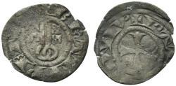 World Coins - Italy, PAPAL STATE. Viterbo. Sede Vacante (1268-1271). BI Denaro Paparino. Crossed keys. R/ Cross