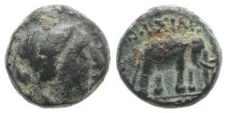 Ancient Coins - Seleukid Kings, Antiochos III 'the Great' (222-187 BC). Æ 11mm