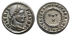 Ancient Coins - Crispus (Caesar, 316-326). Æ Follis - Siscia