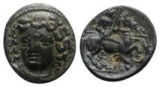 Ancient Coins - Thessaly, Larissa, late 4th-3rd century BC. Æ