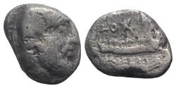 Ancient Coins - Phoenicia, Arados, c. 400-338 BC. AR Stater  R/ Galley