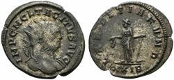 Ancient Coins - Tacitus (275-276). Radiate. Rome, AD 275.  R/ Laetitia