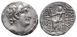 Ancient Coins - Seleukid Kings, Antiochos VIII Epiphanes (121/0-97/6 BC). AR Tetradrachm