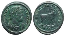 Ancient Coins - Julian II (360-363). Æ 30mm. Antioch, 361-3. R/ BULL