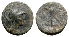 Ancient Coins - Seleukis and Pieria, Apameia on the Axios, 1st century BC. Æ - Athena / Nike