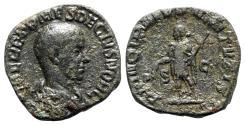 Ancient Coins - Herennius Etruscus (Caesar, 249-251). Æ Sestertius. Rome, AD 250.