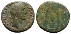 Ancient Coins - Antoninus Pius (138-161). Æ Sestertius - Rome