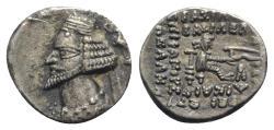 Ancient Coins - Kings of Parthia, Phraates IV (c. 38/7-2 BC). AR Drachm