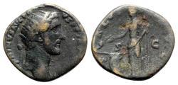 Ancient Coins - Antoninus Pius (138-161). Æ Dupondius - R/ Salus
