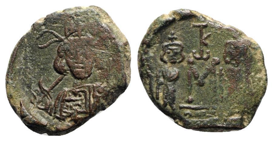 Ancient Coins - Constantine IV (668-685). Æ 40 Nummi - Syracuse