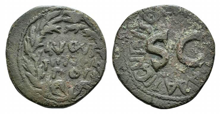 Ancient Coins - Augustus (27 BC-AD 14). AE As