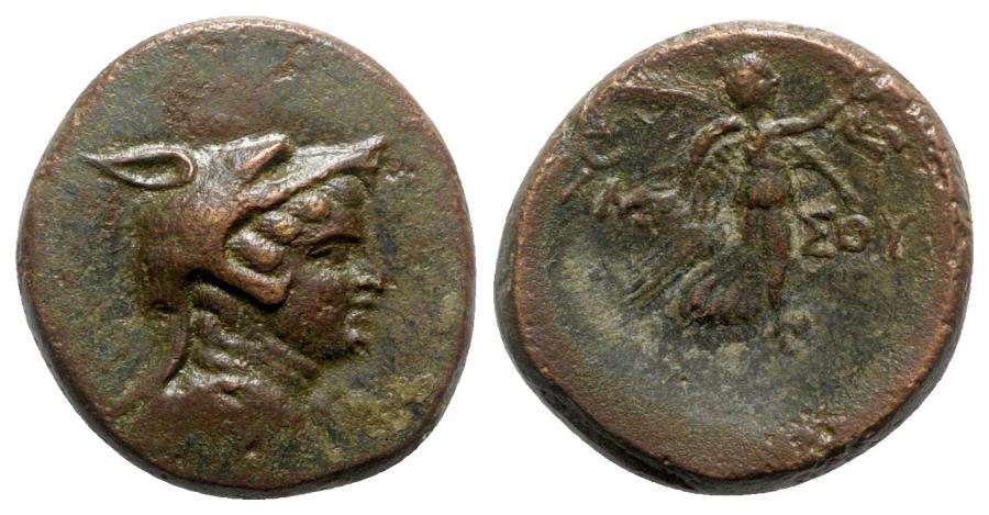 Ancient Coins - Pontos, Amisos, c. 85-65 BC. Æ - Amazon / Nike