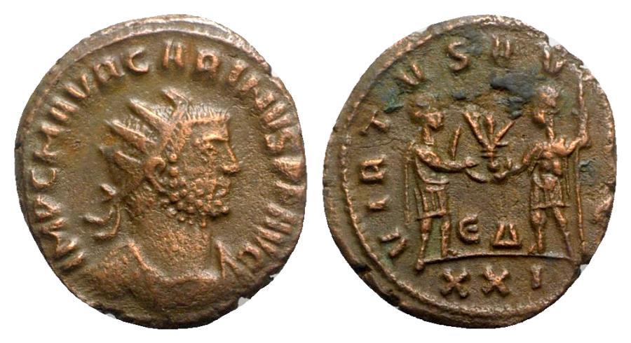 Ancient Coins - Carinus (283-285). Radiate - Antioch