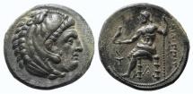 Ancient Coins - Kings of Macedon, Philip III Arrhidaios (323-317 BC). AR Tetradrachm. Sardes, 323-319 BC. Near EF