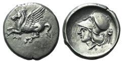 Ancient Coins - AKARNANIA, Anaktorion. Circa 350-300 BC. AR Stater