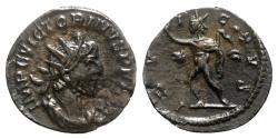 Ancient Coins - Victorinus (269-271). Radiate - Treveri - R/ Sol