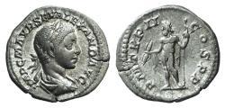 Ancient Coins - Severus Alexander (222-235). AR Denarius. Rome, AD 223. R/ JUPITER