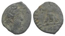 Ancient Coins - Uncertain Emperor. Roman PB Tessera, c. 4th-5th century AD (12mm)  R/ Victory