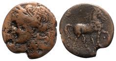 Ancient Coins - Carthage, c. 201-175 BC. Æ Trishekel