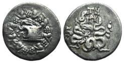 Ancient Coins - Mysia, Pergamon, c. 166-67 BC. AR Cistophoric Tetradrachm, c. 76-67.