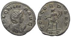 Ancient Coins - Salonina (Augusta, 254-268). Antoninianus. Rome, 263-4. R/ Concordia