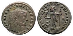 Ancient Coins - Licinius I (308-324). Æ Follis - Siscia