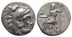 Ancient Coins - Kings of Macedon, Philip III Arrhidaios (323-317 BC). AR Drachm. Sardis, c. 323-319.