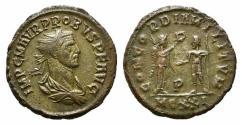 Ancient Coins - Probus (276-282). Radiate. Cyzicus, AD 280. R/ Probus