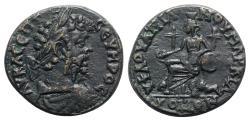 Ancient Coins - Septimius Severus (193-211). Moesia Inferior, Marcianopolis. Æ - Julius Faustinianus, legatus consularis