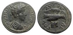 Ancient Coins - Commodus (177-192). Troas, Alexandria. Æ - R/ Eagle