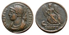Ancient Coins - Commemorative Series, c. 330-354. Æ Follis - Antioch - R/ Victory