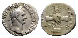 Ancient Coins - Trajan (98-117). Cappadocia, Caesarea. AR Drachm