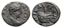 Ancient Coins - Caracalla (198-217). Bithynia, Nicaea. Æ - R/ Prize-urn