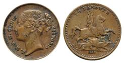 World Coins - Great Britain, Victoria (1837-1901). Hanover. Æ Token 1830