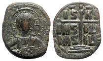 Ancient Coins - Anonymous, time of Romanus III (1028-1034). Æ 40 Nummi