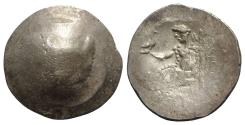 Ancient Coins - Celtic, Eastern Europe, 2nd century BC. AR Tetradrachm