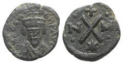 Ancient Coins - Phocas (602-610). Æ 10 Nummi. Carthage. RARE