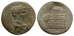 Ancient Coins - Septimius Severus (193-211). Pontus, Amasia. Æ - R/ Altar of Zeus Strateus