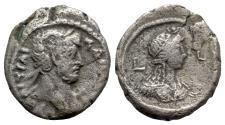 Ancient Coins - Hadrian (117-138). Egypt, Alexandria. BI Tetradrachm - year 8