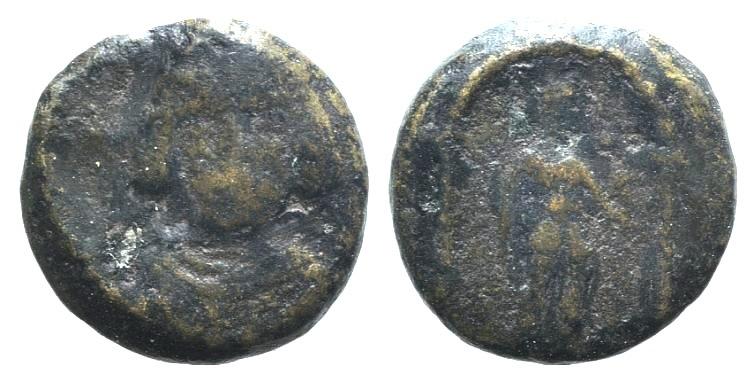 Ancient Coins - Kings of Parthia, Meherdates (Usurper, AD 49-50). AE Chalkous. Ekbatana.