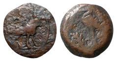 Ancient Coins - Egypt, Alexandria. Julio-Claudian period, perhaps under Gaius (Caligula), 1st century AD. Æ Dichalkon - Apis / Bull