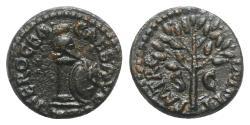 Ancient Coins - Nero (54-68). Æ Quadrans. Rome, AD 65.
