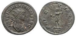 Ancient Coins - Numerian (Caesar, AD 282). Radiate. Rome. R/ Numerian standing