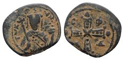 Ancient Coins - Alexius I (1081-1118). Æ Tetarteron (19mm, 3.37g, 12h). Thessalonica.