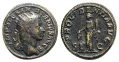 Ancient Coins - Severus Alexander (222-235). Æ Dupondius - Rome - R/ Providentia