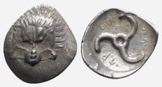 Ancient Coins - Dynasts of Lycia, Perikles - Tetrobol