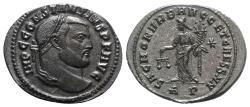 Ancient Coins - Constantius I (Caesar, 293-305). Æ Follis Rome, 302-303. R/ MONETA