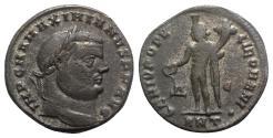 Ancient Coins - Maximianus (286-305). Æ Follis. Antioch.  R/ GENIUS